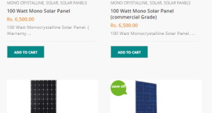Tesla Solar Panel Price In Pakistan 2019, 100 Watt, 150 Watt, 250 Watt