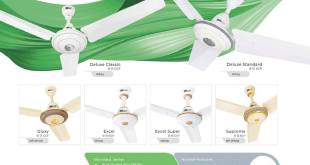 BELVIN Ceiling Fans Price In Pakistan 2019 New Model Shape Power Consumption