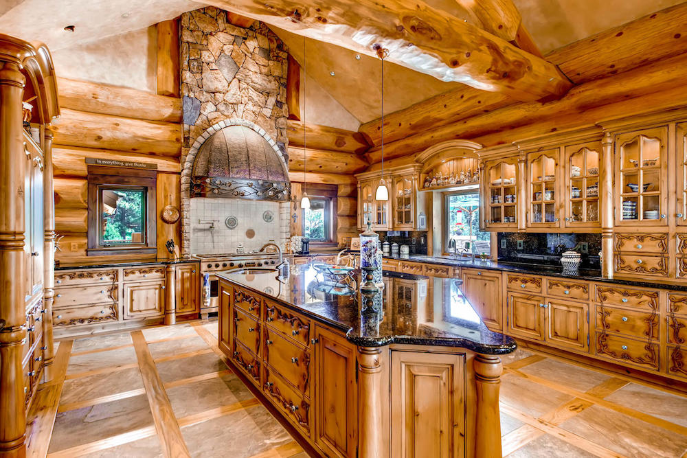 Timber Kings Log Mansion In Loveland Co Reduced To 7