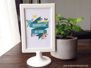 MY Own Brand Of Happy   Daughter of God Printable   Young Women Freebie