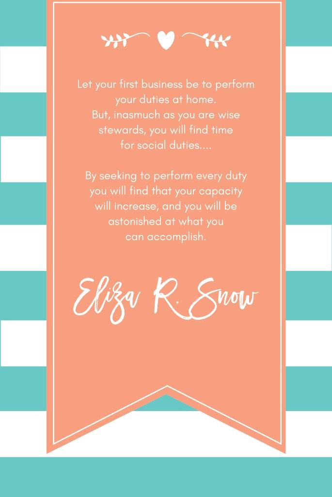 WOG Eliza R Snow - JAN-01