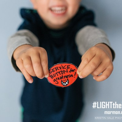 #LightTheWorld with Thumbs Up Tickets – FREE Printables from Lisa Valentine Clark & Gina James