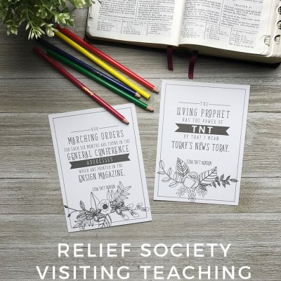 FREE Relief Society Visiting Teaching Prints for May 2017 – General Conference Addresses