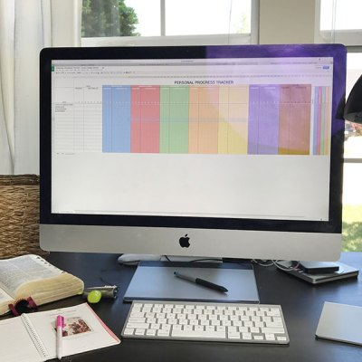 Organizing Personal Progress – A Free Spreadsheet File that Coordinates with Come Follow Me