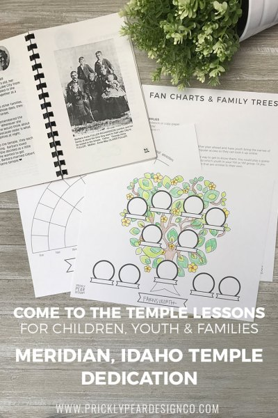 Come to the Temple – Turning Hearts Through Family History : Lesson No. 3 for Preparing for the Meridian, Idaho Temple Dedication