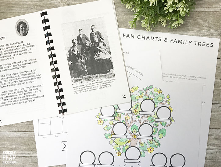 Meridian Idaho Temple Dedication | Come to the Temple Lessons | Turning Hearts Through Genealogy | FREE Fan Chart Printable | FREE Family Tree Printable | LDS Temple Dedication