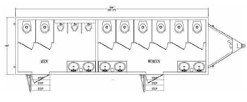 Ada Bathroom Stall Requirements