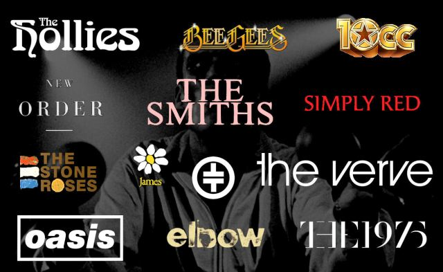 Pride Of Manchester - The Top 100 Manchester Bands