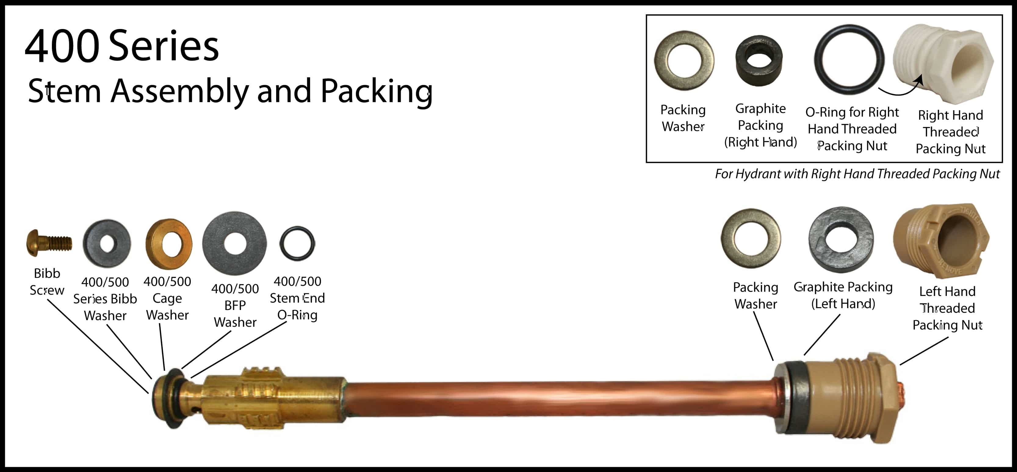 400 series anti siphon wall hydrant
