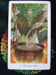 Card of the Day ~ Green Man