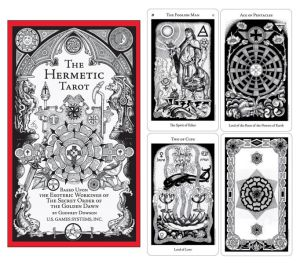 Hermatic Tarot - a possible syncretic deck?