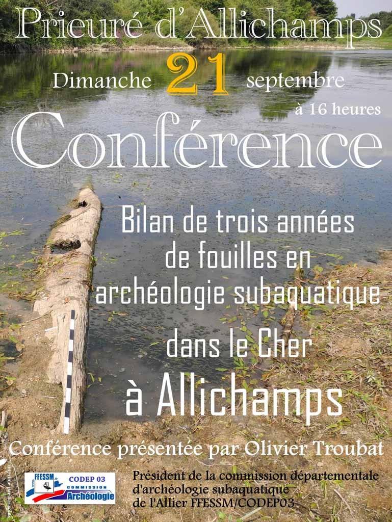 Affiche conférence 21 septembre 2014 à Allichamps