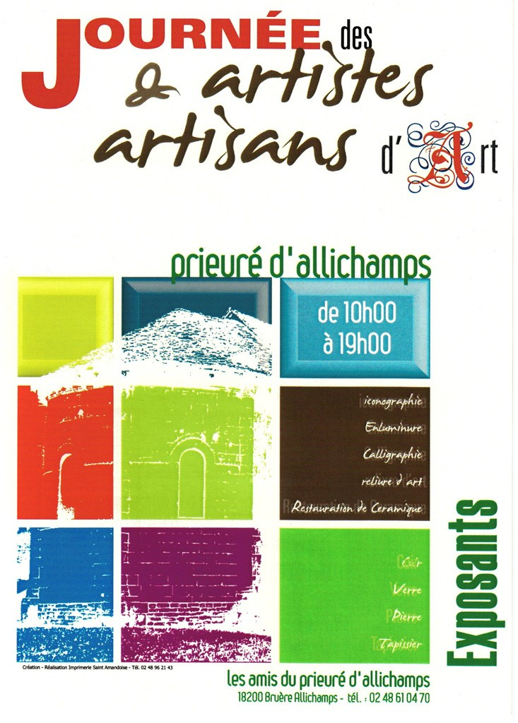 Dimanche 18 juillet 2010 Journée artistes et artisans d'art