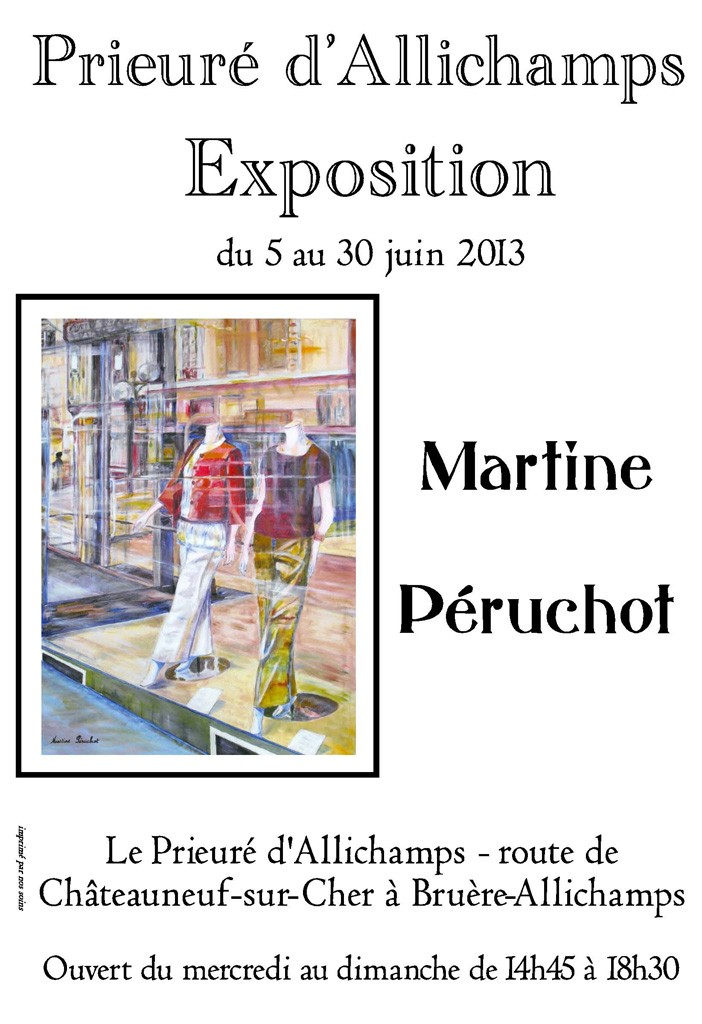 Expo Martine Péruchot x 1