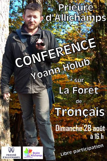 Saison 2016 – Conférence sur la forêt de Tronçais