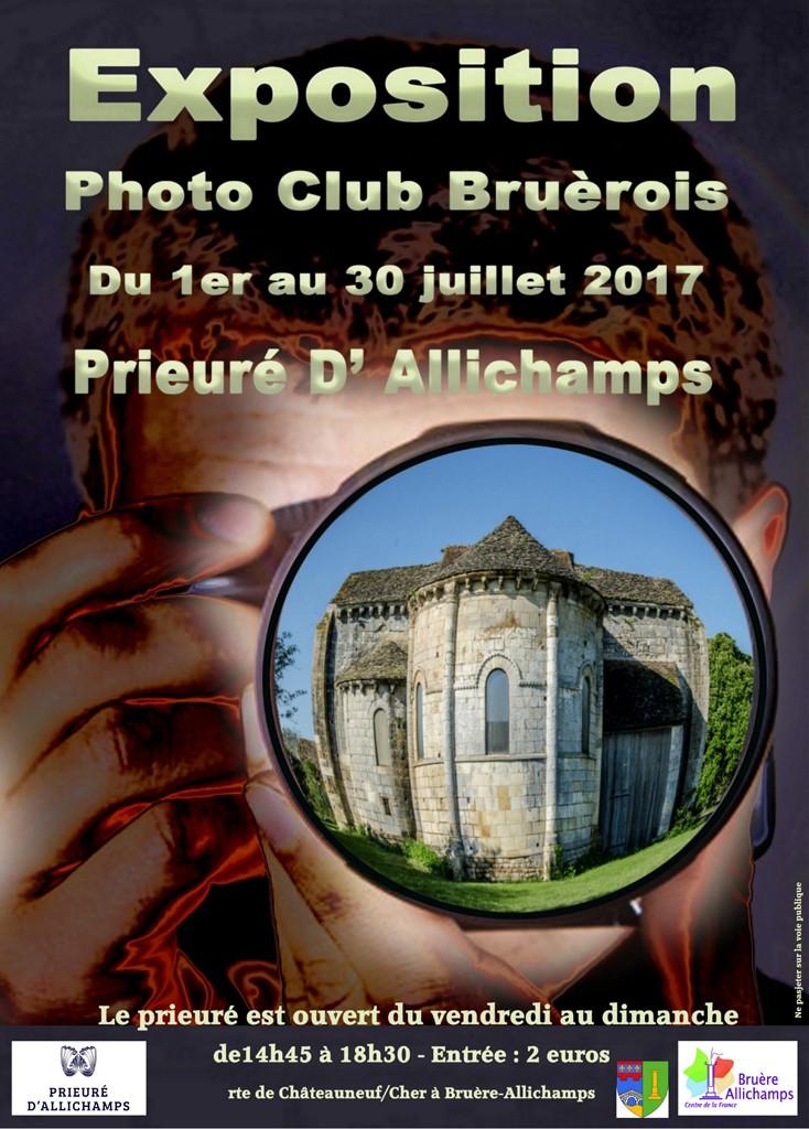 Affiche expo Club photo de Bruère Site