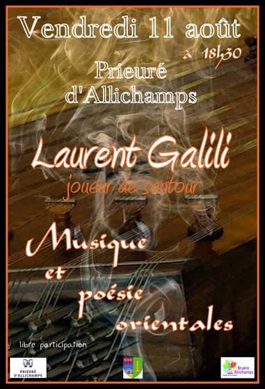 Saison 2017 – Laurent Galili, joueur de santour – Musique et poésie orientales