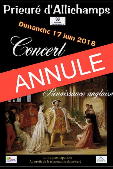 Saison 2018 – Concert de flûtes – ANNULE pour raison de santé – sera reprogrammé en 2019