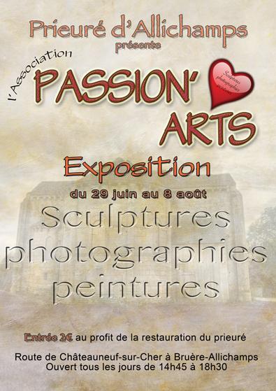 Saison 2018 – Association Passion'arts (29 juin au 8 août)