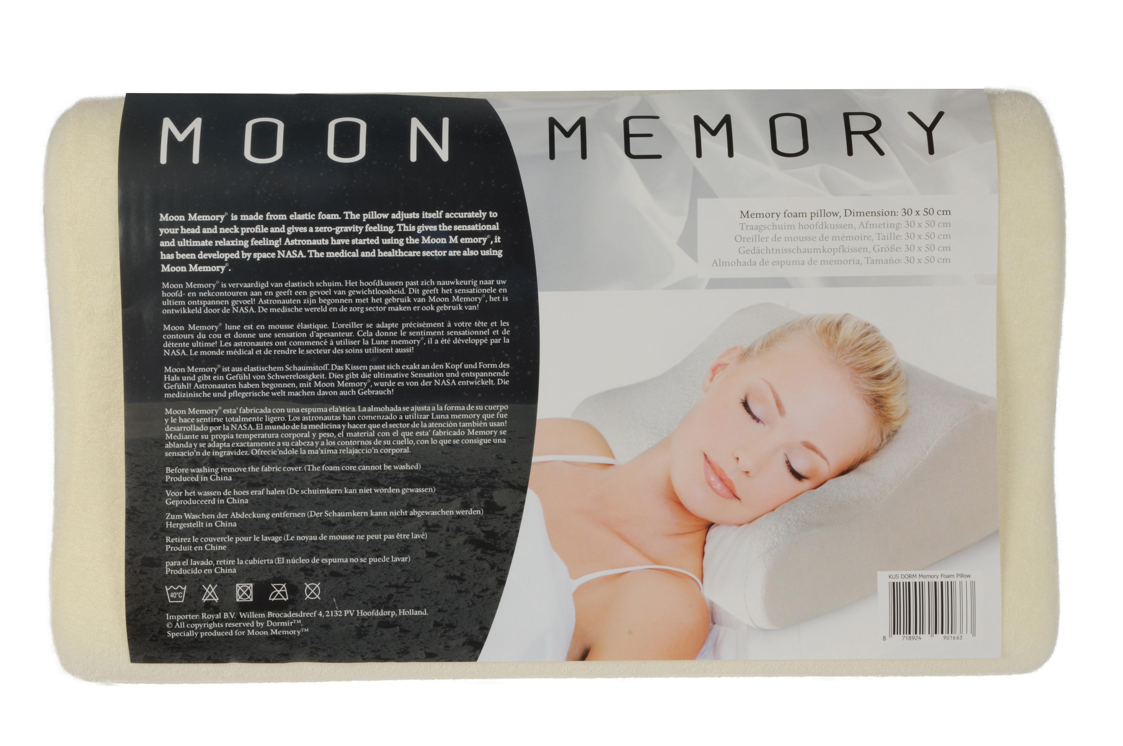 Nasa Memory Foam Kussen.Kussen Memory Foam Prifix