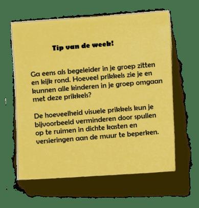 Tip van de week!