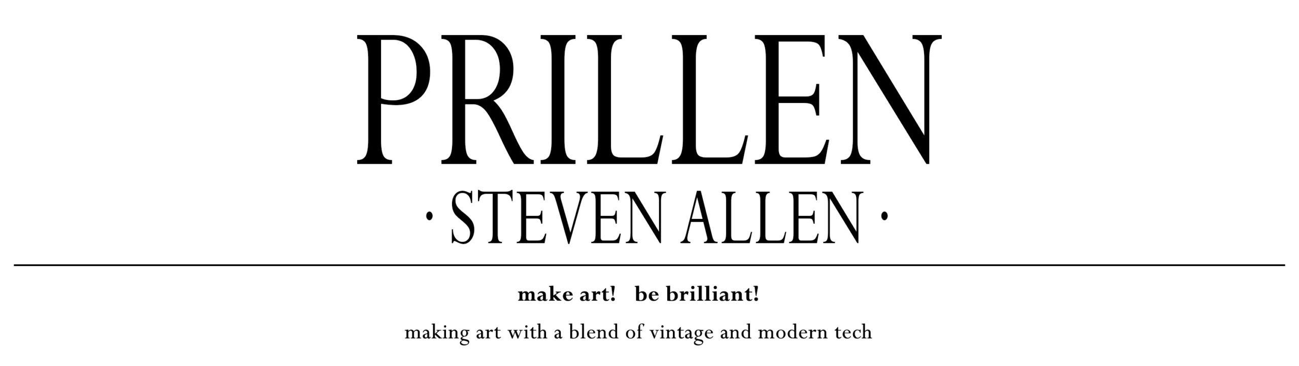 Prillen · Steven Allen Logo