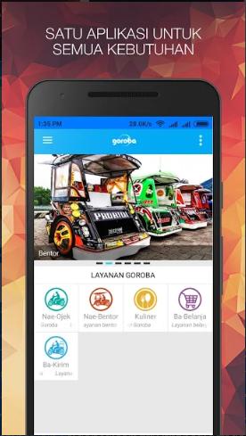 Aplikasi Ojek Online Goroba