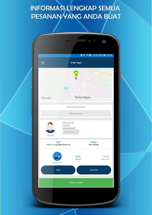 Aplikasi Ala Gojek Yang Memanjakan Driver-Doyan Jek