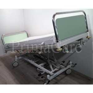 Hospital bed - 2 section - Hydraulic - stiegelmeyer - refurbished - Trendelenburg