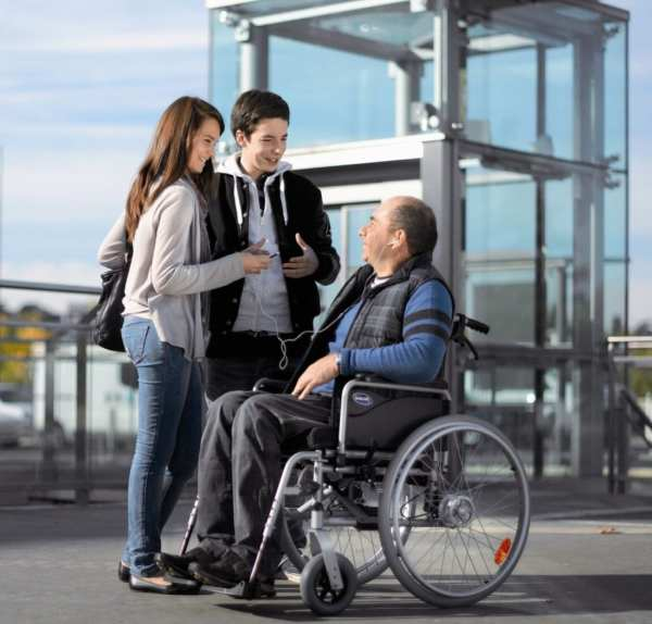 Invacare Action 1 Wheelchair - Reality setting