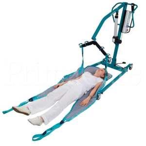 Patient lifter hoist - aks - foldy - person from floor