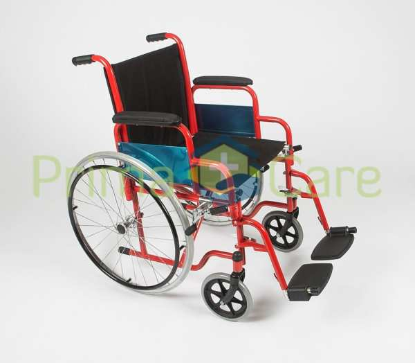 Wheelchair - Delux - Side view