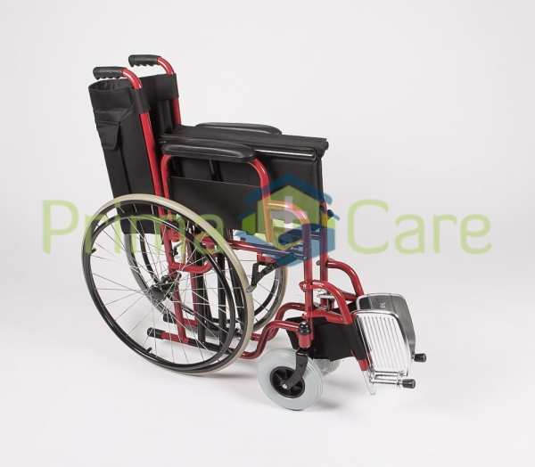 Wheelchair - Heavy Duty - Folded