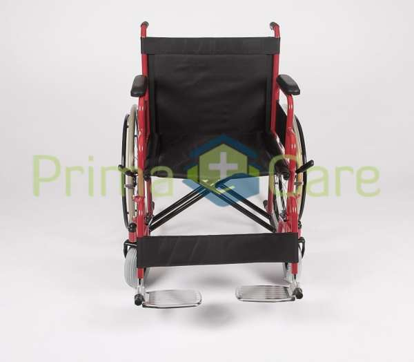 Wheelchair - Heavy Duty - Front View