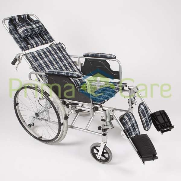 Wheelchair - Recliner - Side view