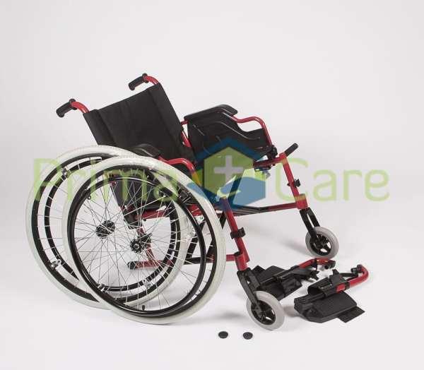 Wheelchair - Ultra Deluxe - quick release rear wheels