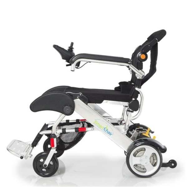 Electric Wheelchair - KD Smart - Foldable - Side view