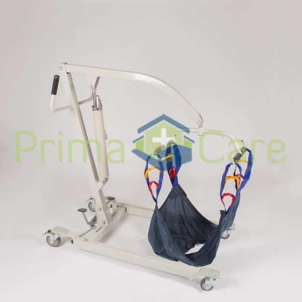 Patient Lifter - Manual - Hydraulic - Mediumhigh position