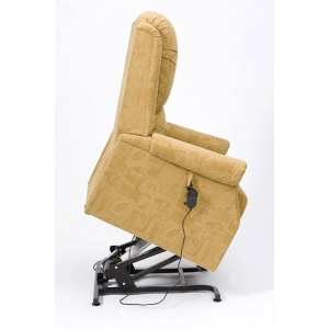 Rise Recliner - Restwell - Chicago - Fabric - Side View