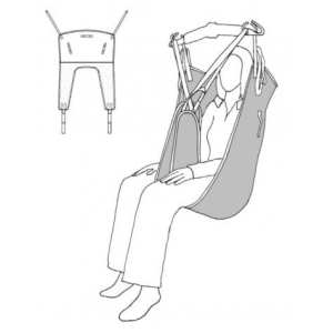 Sling - Drive Medical - Deluxe Fast Fit - Illustration