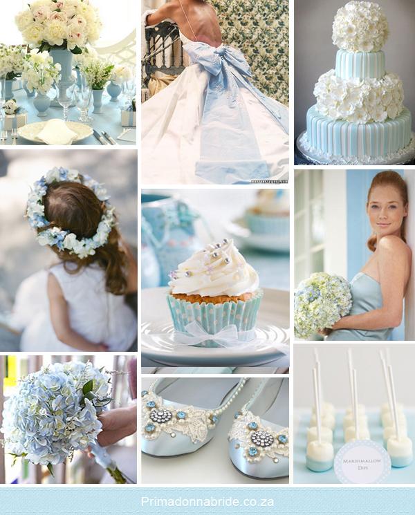 Blue And White Wedding Theme Ideas: Light Blue And White Wedding Inspiration