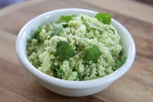 Cauliflower Arroz Verde (Green Rice)