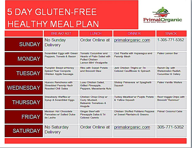 The Fresh Menu Meal Plan Delivery