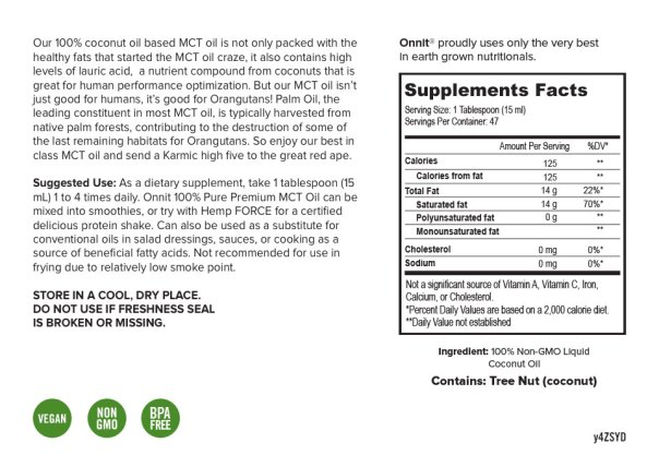 MCT Oil Ingredients