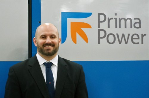 Dominic Rickard joins Prima Power Laserdyne Sales Manager