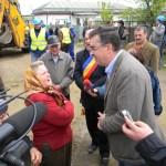 Marian Opişan a inaugurat lucrările de reabilitarea şi extindere a reţelei de alimentare cu apă si canalizare din Panciu