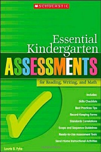 Kindergarten Assessment book by Laurie Fyke