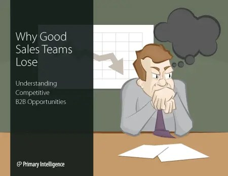 eBook: Why Good Sales Teams Lose