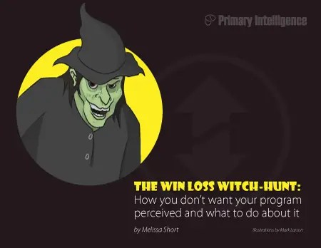 eBook: Win Loss Witch Hunt