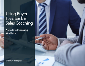 Using Buyer Feedback for Sales Coaching